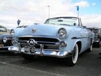 As the reg says a RARE 52 Ford Crestline convertible