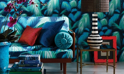 Matthew Williamson and Nina Campbell's New Collections for Osborne & Little