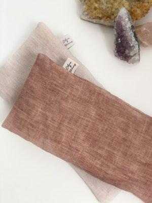 Ethics & Alchemy  Inspire Me - Citrine filled Aromatherapy Eye Pillow