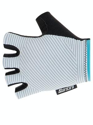 Santini Mille Gloves Silver Bullet