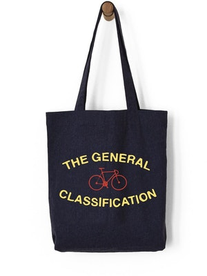 The General Classification Median Bicycle Recycled Tote Navy