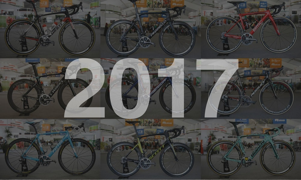 Pro Bikes of the 2017 WorldTour - Video