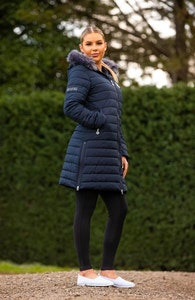 Bare Equestrian Winter series - Leah Long Jacket