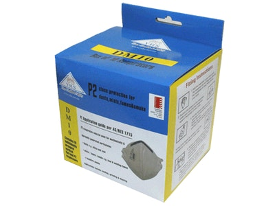 P2 Vertical Fold Respirator – Box/10 (DM10)