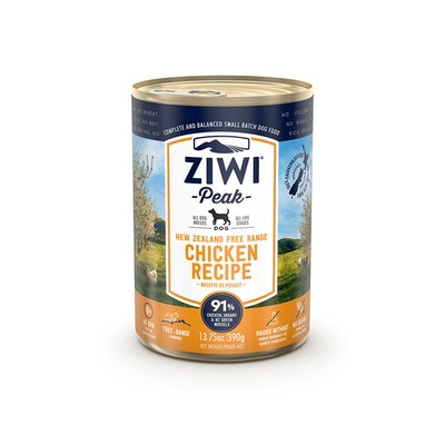 ZiwiPeak ZIWI Peak Dog Chicken Recipe Can 390G