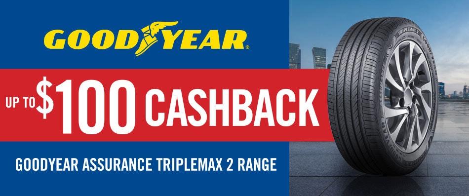 Goodyear Cashback promotion