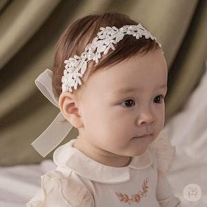 Lilian Lace Baby Headband