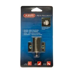 ABUS Window Press Bolt - Brass
