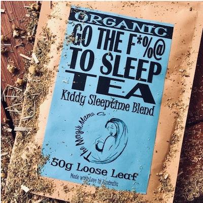 The Magik Mama Co Go The F*%@ To Sleep Tea   Kiddy Sleeptime Blend