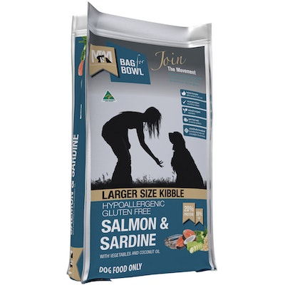 MEALS FOR MUTTS MFM Larger Size Kibble Gluten Free Salmon & Sardine Dog Food - 2 Sizes