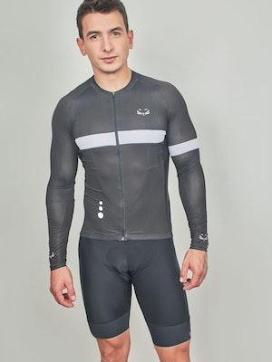 Taba Fashion Sportswear Camiseta Ciclismo Hombre Manga Larga Florencia
