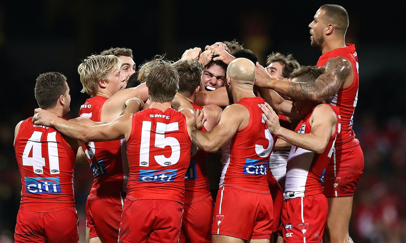 AFL Season 2018; Sydney Swans Football Club Hospitality