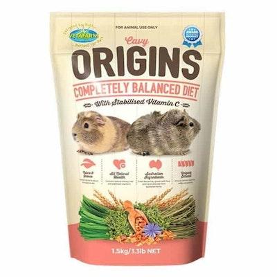 Vetafarm  Cavy Origins  Pellet Food for Guinea Pigs