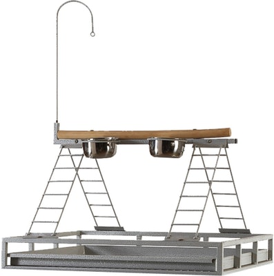 Bono Fido Parrot Stand Gym With Ring 45905