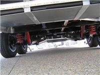 Jayco Silverline suspension from the rear