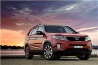 Sorento SUV upgrade 4WD six-speed drivetrain allows on-demand driver control