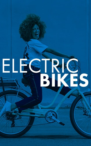 Stay fit & have fun on pedal-assist electric e-bikes.