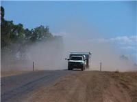 Dust adds to the dangers Gregory Hwy Queensland