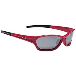 Driver Sport Glasses - Matte Red - Smoked Lens  - BSG-27.2703