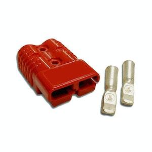 50 amp Anderson Plug Red (Single) inc Terminals