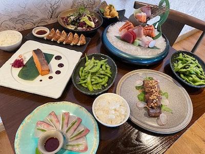 Sake Feast (feeds 4 to 6 people)