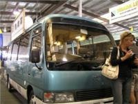 Vancos slick Toyota Ex Coaster conversion