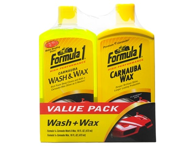 Wash and Wax Multipack