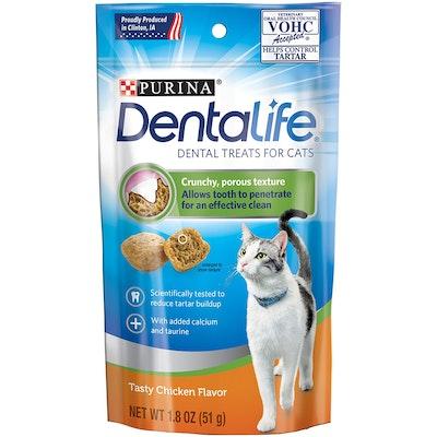 Purina Dentalife Cats Dental Tasty Treat Tasty Chicken 10 x 51g