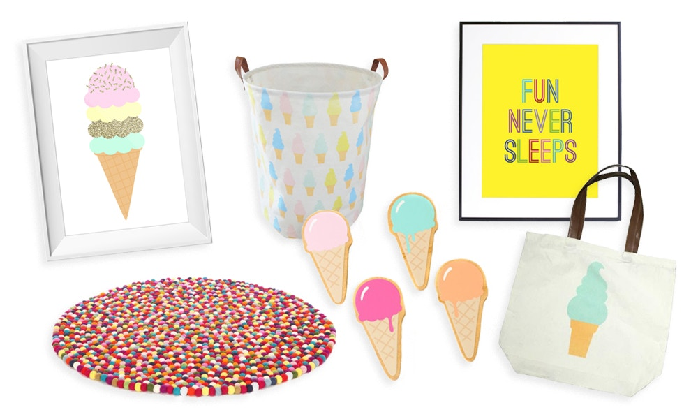 Delicious Decor Treats for Kids Rooms