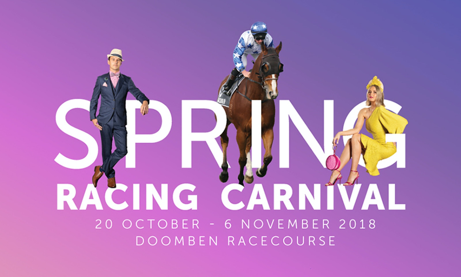 Your Guide To The 2018 Brisbane Spring Racing Carnival