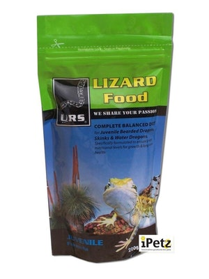 URS Lizard Food Juvenile 200g