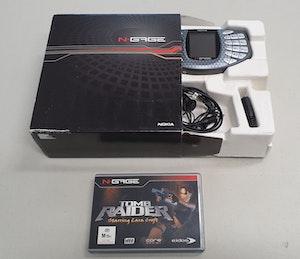 Nokia N-Gage & Tomb Raider Game