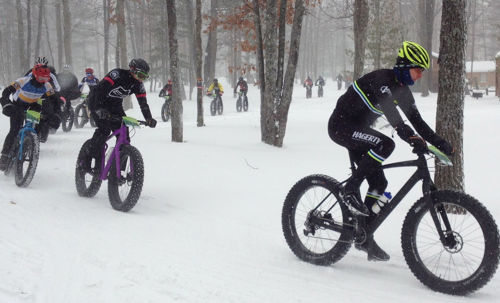 Fat Bikes, Frost Bite and Fun
