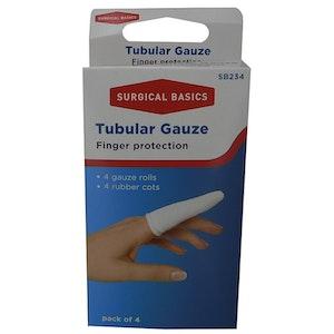 Surgical Basics Tubular Gauze Finger Protection Pack of 4
