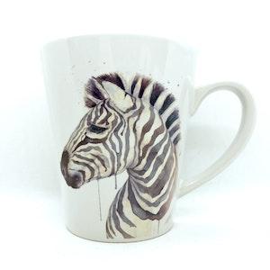 artbrush mug 'SAHARA SERIES Zara Zebra'