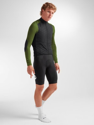 Black Sheep Cycling Men's Elements North/South Insulated Jacket - Black Forest