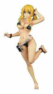 Fairy Tail Lucy Heartfilia Noir Swimwear Gravure Version 1/6 PVC Figure