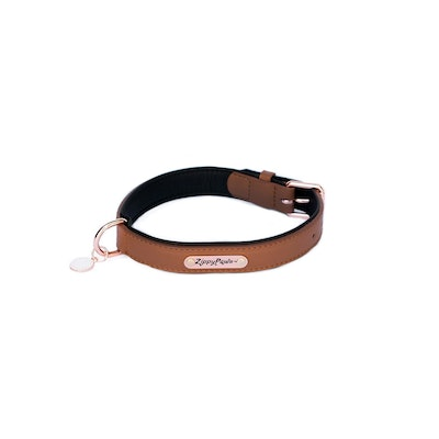 Zippy Paws Legacy Collection Collar - Brown Large