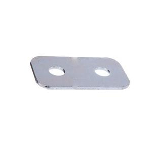 ADI 444DD block lock ( Bloklok ) strike block 3mm packing plate zinc plate finish
