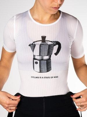 Twenty One Cycling Factory Lightweight base layer - CoffeeMaker - Women