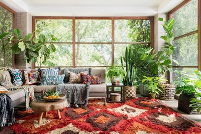 Creating Boho at Home