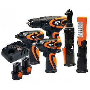 Cordless Power Tool Kit 12v Mechanics SP82146