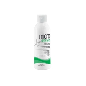 Caronlab Micro Defence Hand & Body Sanitising Gel (125ml) Kills 99.9% Germs