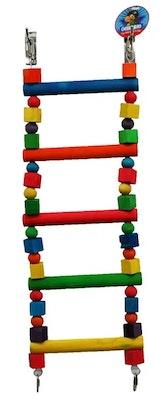 Cheeky Bird Large Parrot 5 Step Ladder B0894
