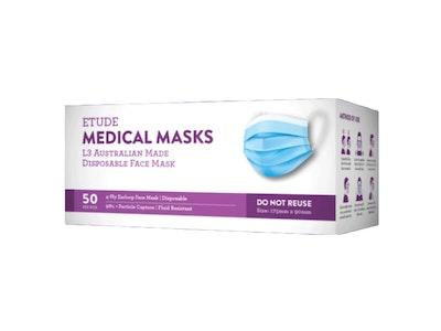 Etude Medical Masks L3 | AUSTRALIAN MADE | (50 Masks Per Box)