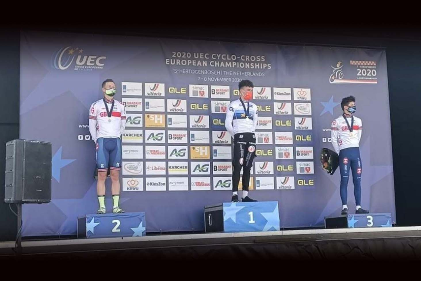 Northwave - The British Thomas Mein wins the Ciclocross European Championship Silver Medal