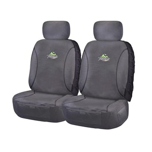 Trailblazer Seat Covers For Mazda Bt50 Up-Ur Series 2011-2020 Single/Dual/Freestyle Cab | Charcoal