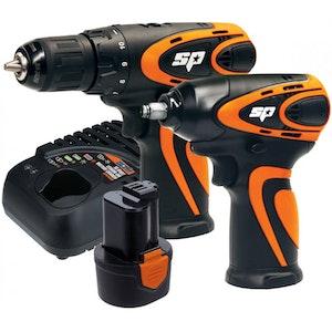 12V 2PC Impact Driver & Drill Driver Combo Kit SP82143