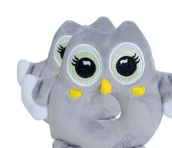 BibiLand BibiBaby Cuddle Rattle - Toot Owl