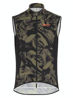 Santini Gravel Windbreaker Vest
